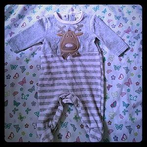 Other - Baby Reindeer Pajama onesie